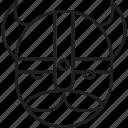 avatar, barbarian, boss, viking icon