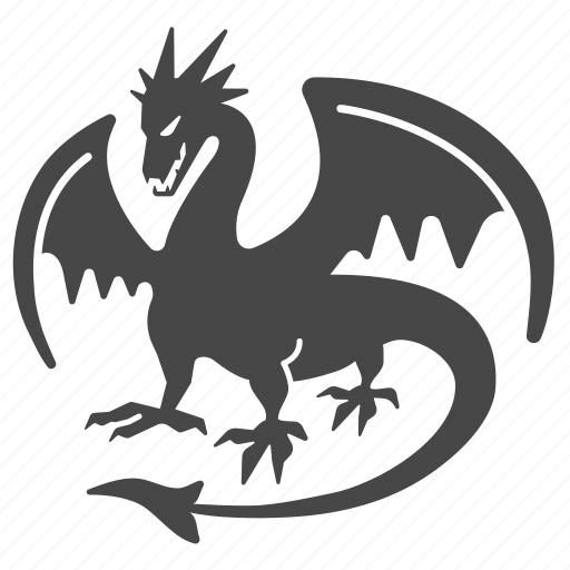 ancient dragon fantasy medieval monster mythology