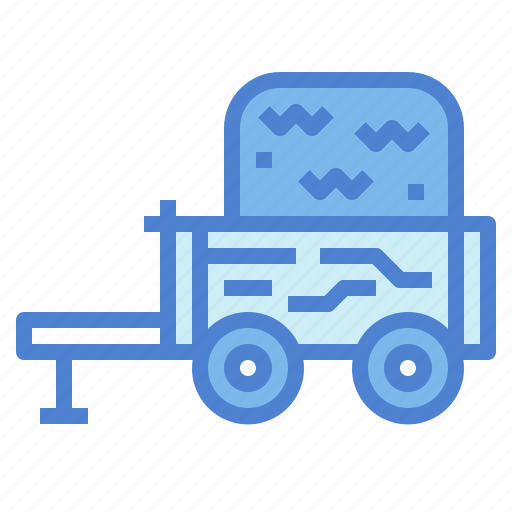 Cart, transportation, wagon, western icon - Download on Iconfinder