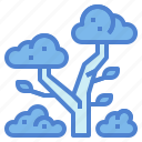 forest, nature, trees, woodland icon