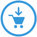 add, cart, keyboard, select, shop, shopping icon