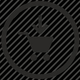 add, cart, keyboard, shop, shopping icon