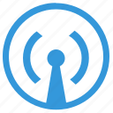 antenna, data, internet, select, signal, transfer icon