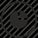 chart, data, economics, info, storage icon