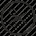 cut, erase, function, keyboard icon