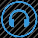 device, headphones, listen, music, select, sound icon