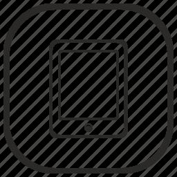 app, ebook, gadjet, read, reader icon