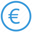 bank, euro, exchange, function, money, select, value icon