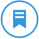 bookmark, browser, fav, favorite, function, round, select icon