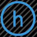 h, keyboard, letter, lowcase, select, virtual icon
