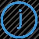 j, keyboard, letter, lowcase, select, virtual icon