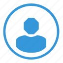 avatar, human, login, round, select, sign, user icon