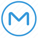 letter, m, mail, mailbox, mailing, metro, select icon