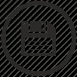 data, function, info, keyboard, save icon