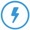 electric, function, mark, select, shock, warning icon