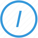 address, keyboard, link, select, slash, text icon