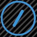 address, enter, mobile, select, slash, text, url icon