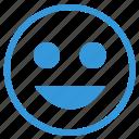 face, feelings, lucky, mobile, select, smile, smiley icon