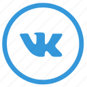 access, fast, social, vk, vkontakte, web icon