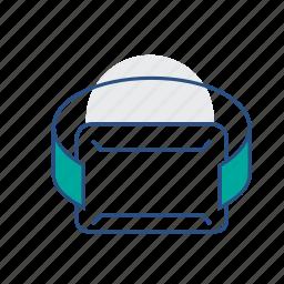 virtual reality, vr icon