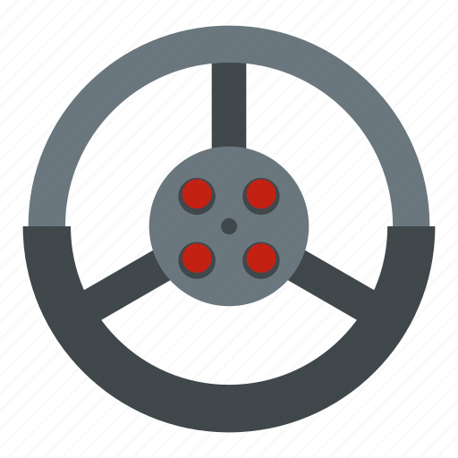 car, drive, driver, race, steer, steering wheel, vehicle icon