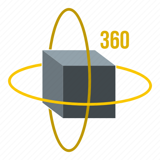 block, cube, game, graphic, puzzle, square, virtual cube icon