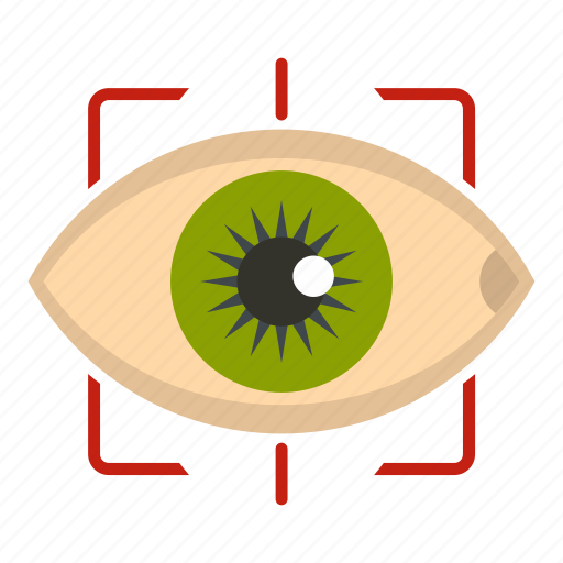 Eye Eyeball Human Look See Sight Vision Icon