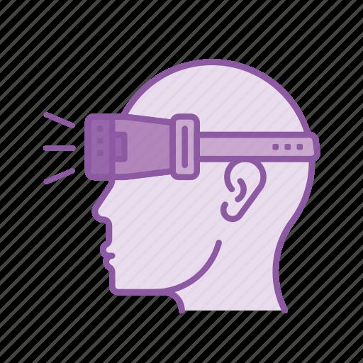 device, gadget, oculus, reality, simulator, virtual, vr icon