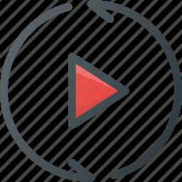 motion, reality, simulation, video, virtual, vr icon