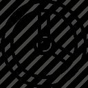 car, handle, steering, wheel icon