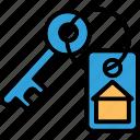 +, keyring, lock key, protection, security icon