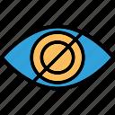 augmented reality, eye tap, eye tap augmentation, smart glasses icon