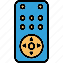 assistive technology, electronic device, remote control, remote for appliances icon