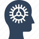 artificial brain, artificial decisioning, artificial intelligence, artificial logic system icon