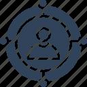affiliate marketing, referral program, social connections, social media icon