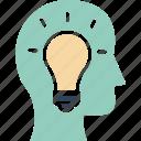 brainstorming, creative mind, creative solution, innovative idea icon