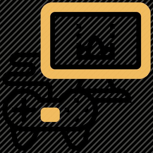 entertainment, game, leisure, video, virtual icon