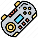 controller, device, entertainment, gaming, joystick icon