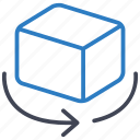 box, object, rotate, rotation