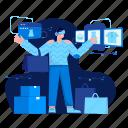 shopping, vr, shop, shopper, virtual reality