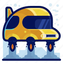 car, hover, hovering, reality, vehicle, virtual, vr icon