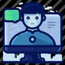 avatar, online, profile, reality, siri, virtual, vr icon