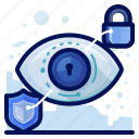 eye, reality, security, view, virtual, vr icon