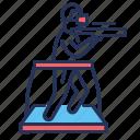 game, person, simulation, vr platform icon