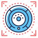 appliance, cleaning, robot, vacuum cleaner icon