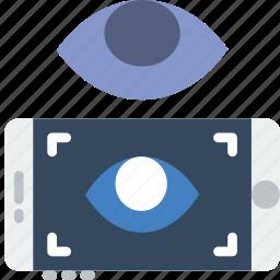 reality, retina, scan, virtual, vr icon