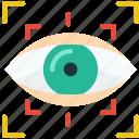 reality, retina, scan, virtual, vr