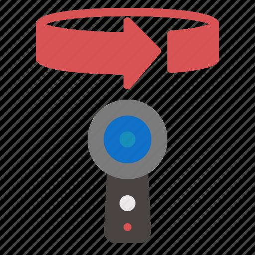 360, camera, panorama icon