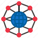 circulargrid, grid, network icon