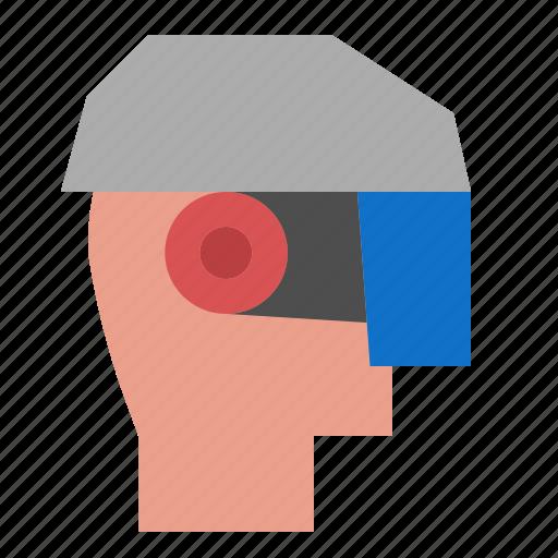 ar, glasses, virtual reality icon